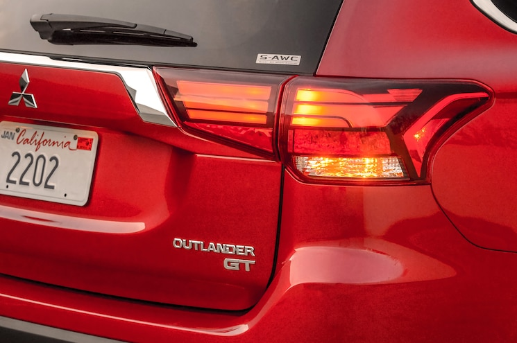 2016 Mitsubishi Outlander Tail Light