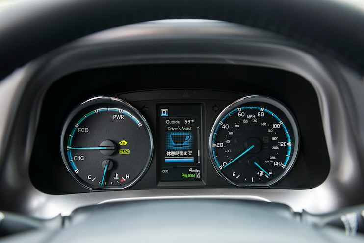 2016 Toyota Rav4 Instrument Cluster