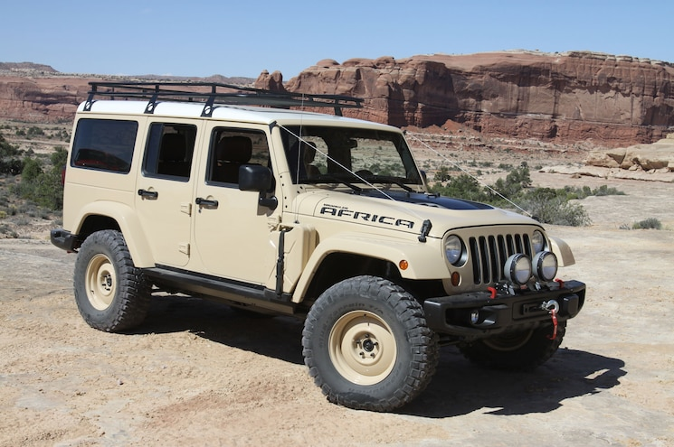 016 2015 Easter Jeep Safari Concepts Africa