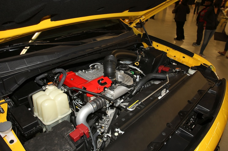 2016 Nissan Titan XD Engine