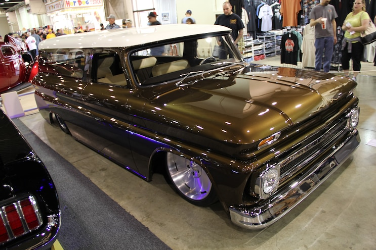 2015 Grand National Roadster Show 124 Scotts Hotrods 1965 Chevy Suburban
