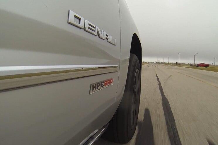GMC Yukon Denali Hennessey HPE650 Door Badge