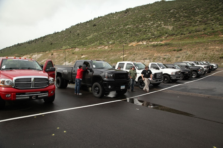 002 Diesel Power Challenge 2015 Day Two Competitors