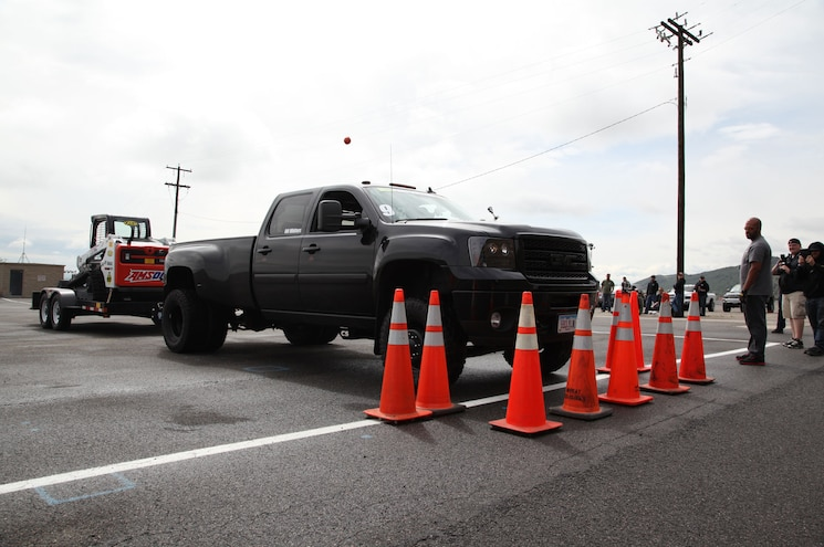 Diesel Power Challenge 2015 Day 2 - Trailer Obstacle Course