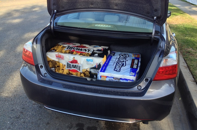 2014 Honda Accord Hybrid Touring Trunk