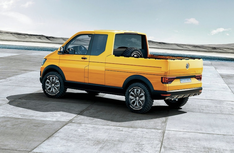 Vw Tristar Tdi Concept Truck