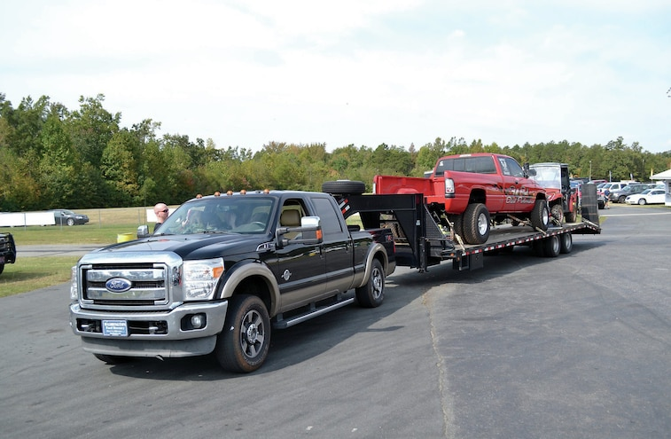 Ford Super Duty Towing