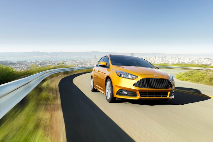 2015 Ford Focus ST Front End In Motion