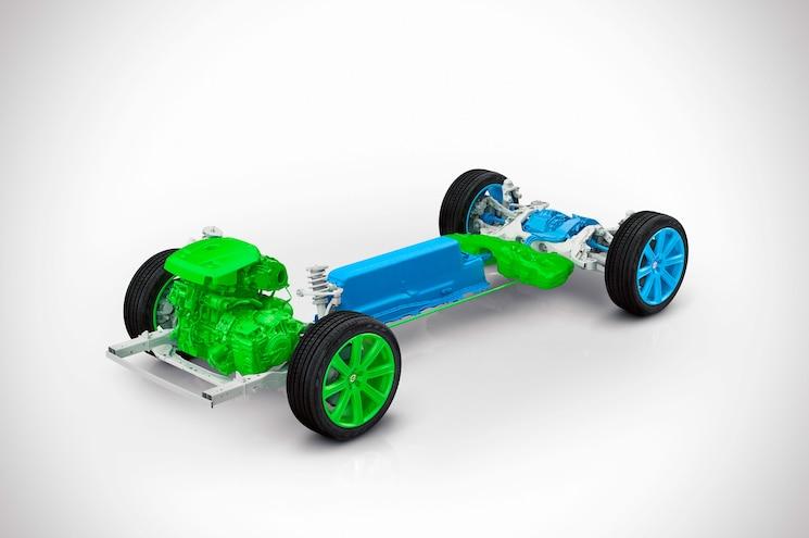 2015 Volvo XC90 T8 Drive Unit All Wheel Drive