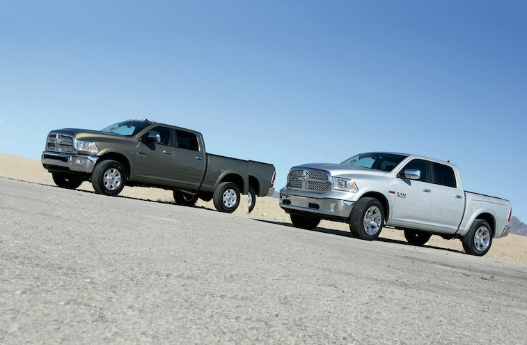 2014 Ram 1500 and 2500 - Sibling Rivalry