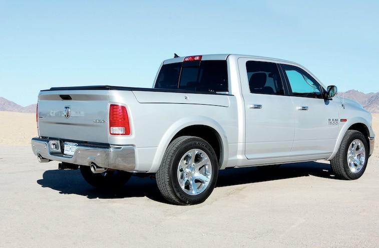 2014 Dodge Ram 1500 Rear View