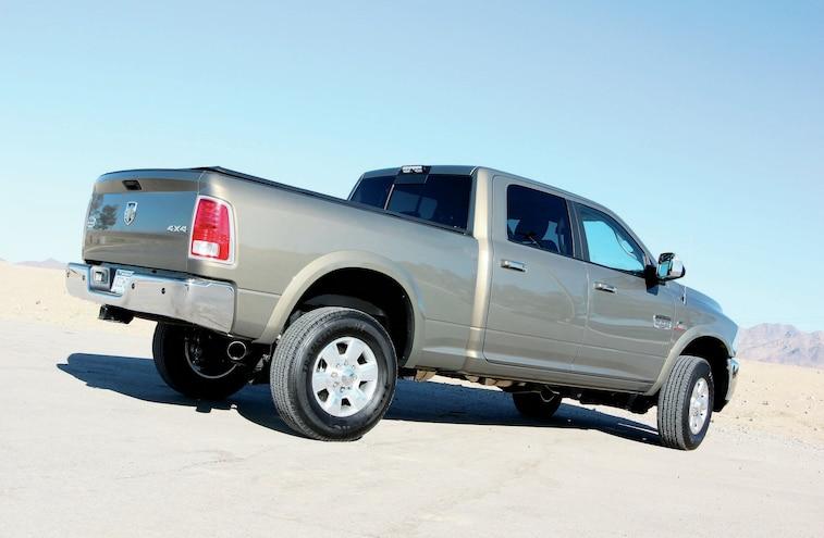 2014 Dodge Ram 2500 Rear View