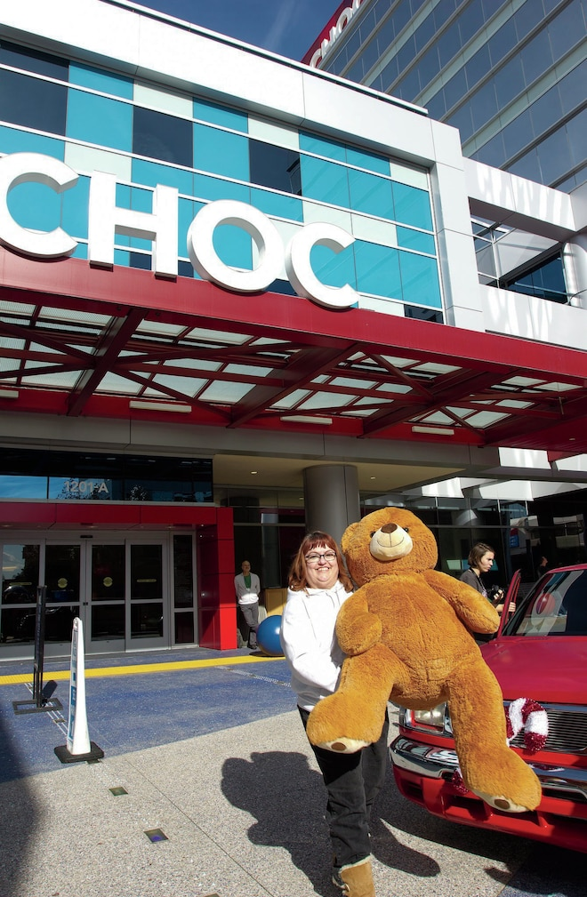 Childrens Hospital Orange County Volunteer Teddy Bear