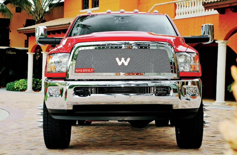 2012 Dodge Ram 1500 Front View