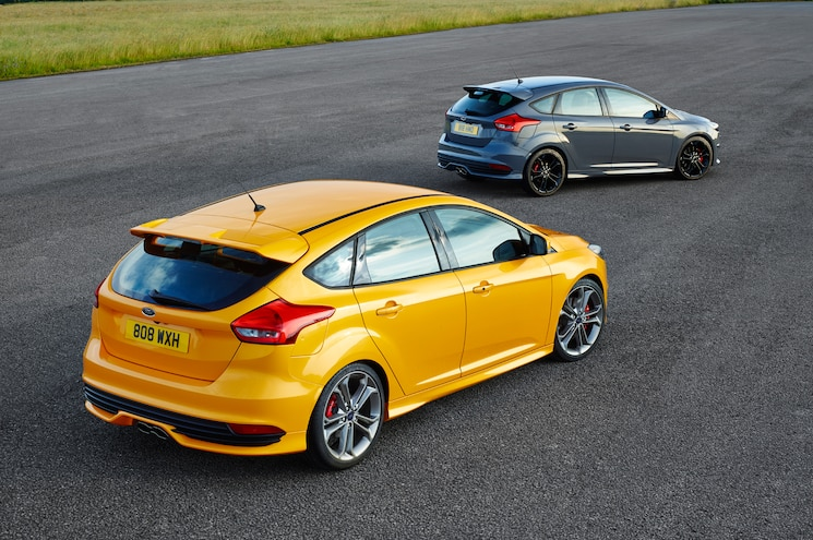 2015 Ford Focus ST Rear Three Quarter