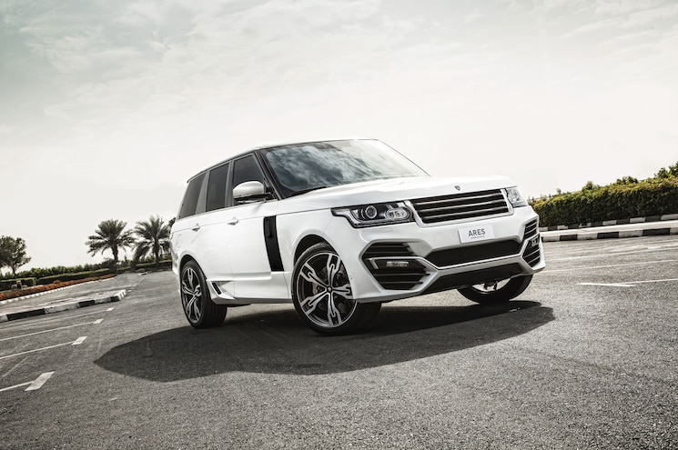 Range Rover Supercharged Gets the Ares Treatment