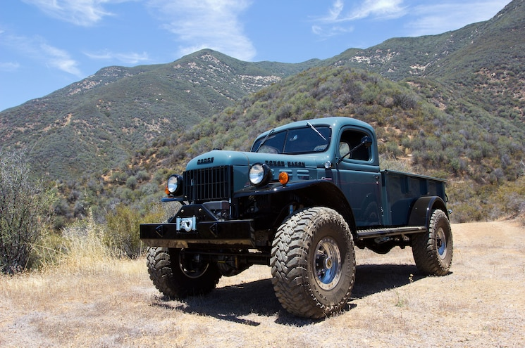 007 Legacy Classic Trucks 1947 Dodge Power Wagon