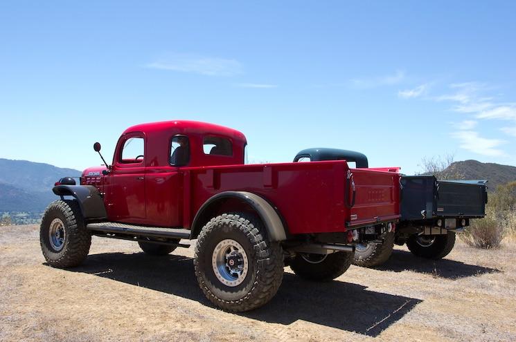 008 Legacy Classic Trucks 1947 Dodge Power Wagon