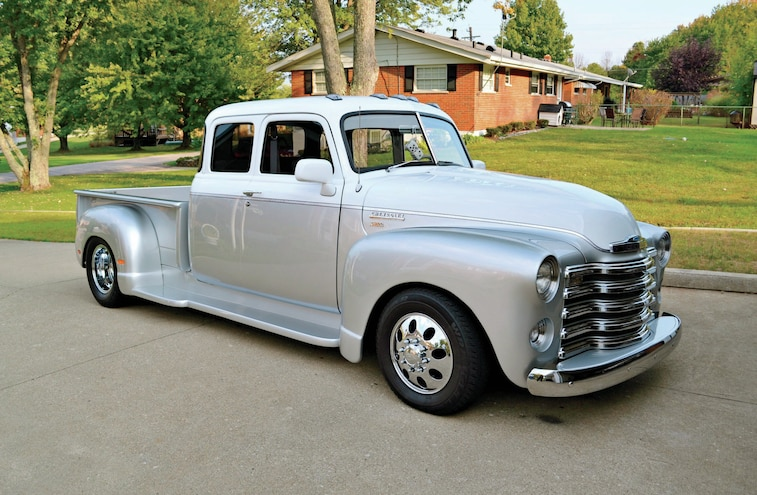 Custom Stretched 1947 Chevy 3800 & 2007 Dodge Ram 3500 - Readers' Rides
