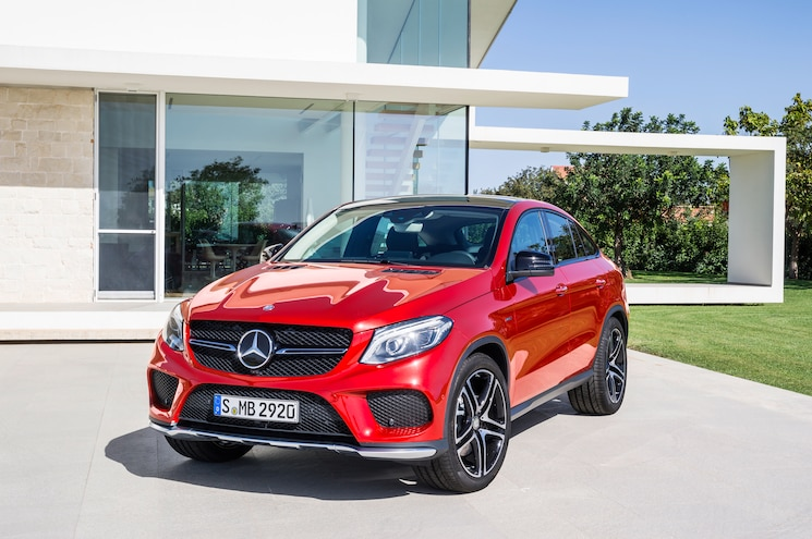 2016 Mercedes Benz GLE 450 AMG 4Matic Coupe Front End