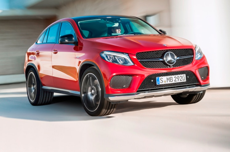 Mercedes-Benz GLE Coupe Throws Down the Fastback-SUV Gauntlet