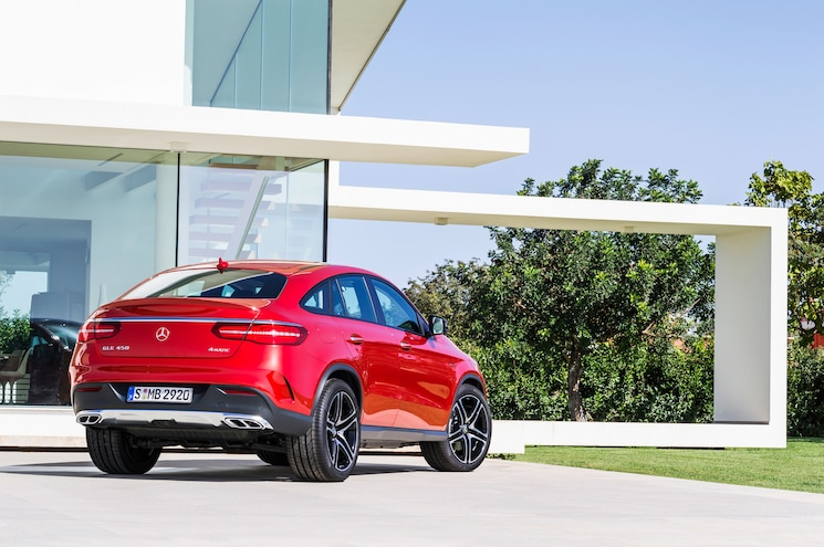 2016 Mercedes Benz GLE 450 AMG 4Matic Coupe Rear Three Quarter