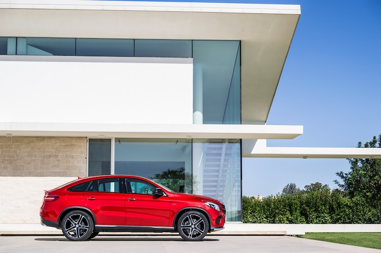 2016 Mercedes Benz GLE 450 AMG 4Matic Coupe Side