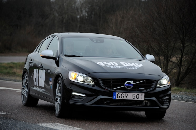 Volvo S60 High Performance Drive E Powertrain Concept Front Three Quarter Static