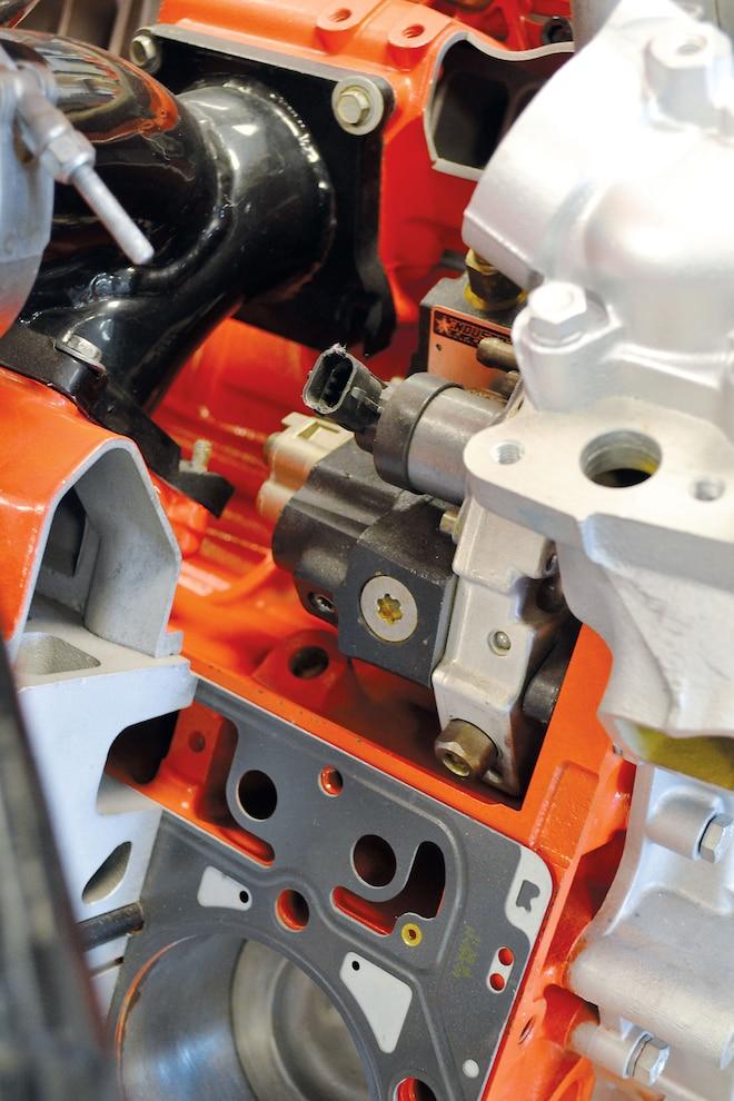 Bosch Fuel Pump On Duramax Cutaway