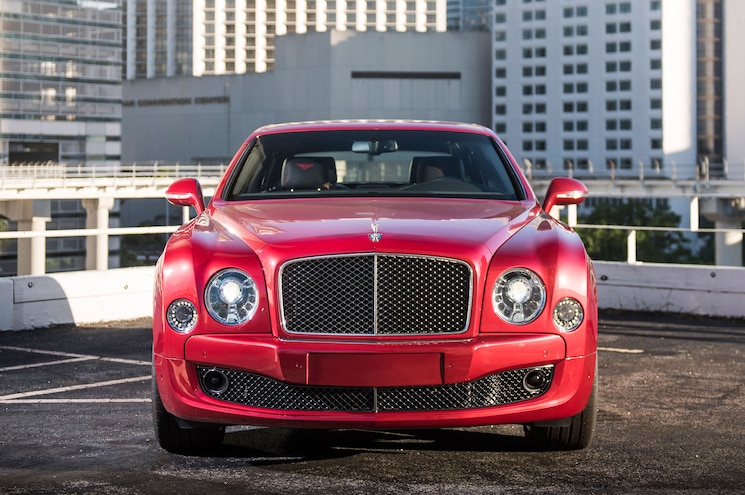 2015 Bentley Mulsanne Speed Front View 2