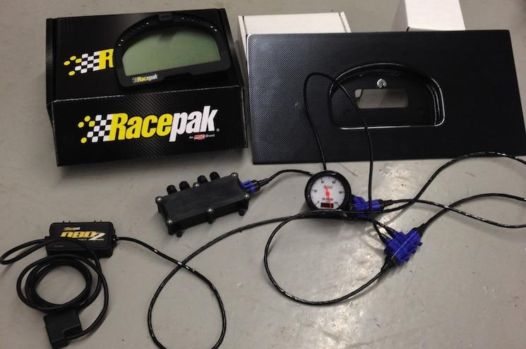 1993 Nissan 240SX Project Racepak Stuff