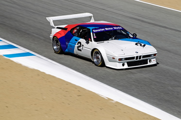 BMW M1 Group 4 ProCar Front Three Quarter In Motion