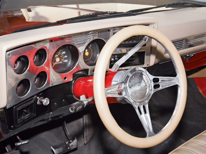 1986 Chevrolet Crew Cab Dualie interior Steering Wheel