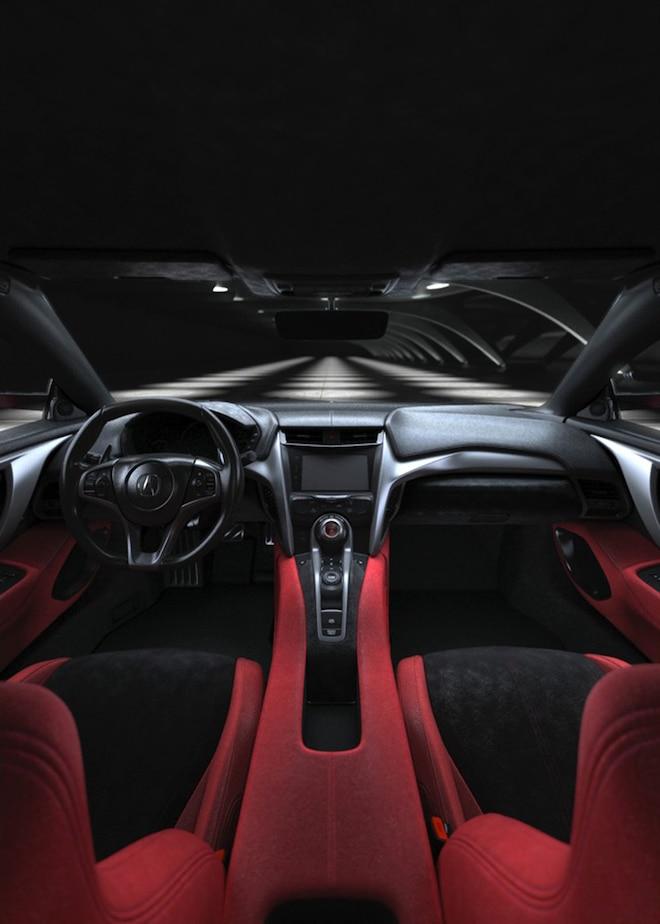 2016 Acura NSX Interior View