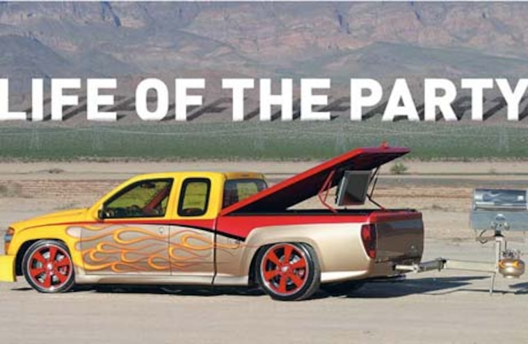 Custom 2005 GMC Canyon - Life of the Party