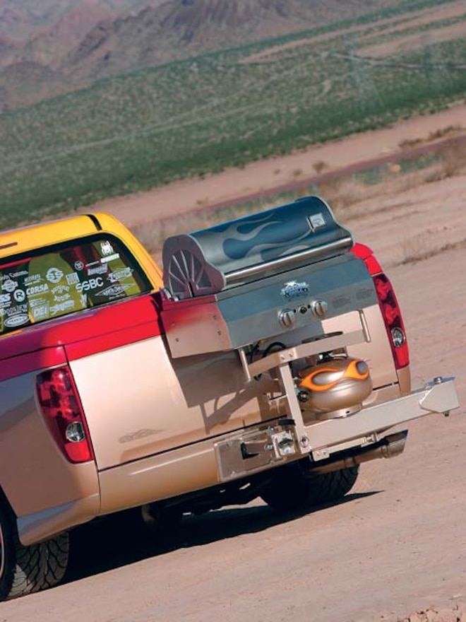 custom 2005 Gmc Canyon grill Setup