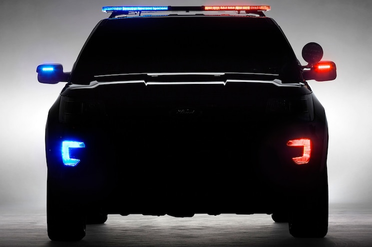 New Ford Explorer Police Interceptor Coming to Chicago Auto Show