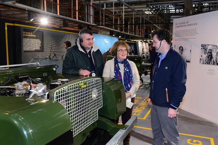 Land Rover Recreates 1948 Series I Production Line at Solihull Plant