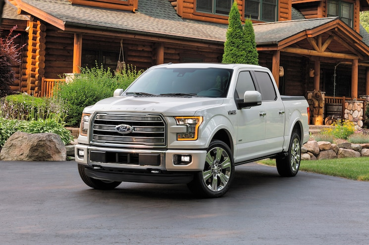 2016 Ford F 150 Limited Front Three Quarter