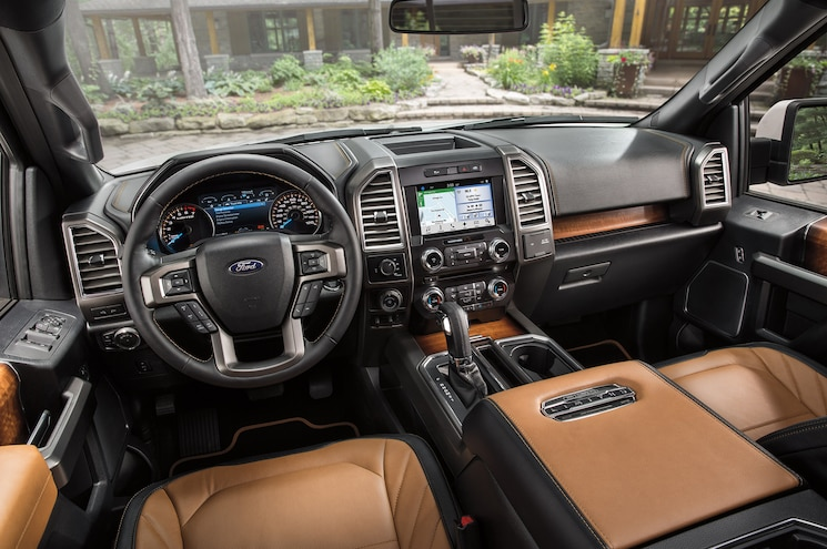 2016 Ford F 150 Limited Interior