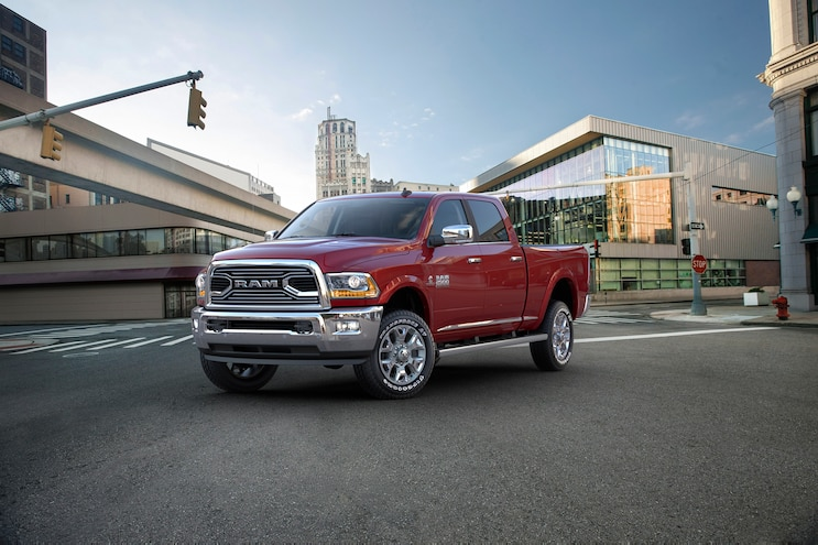 2016 Ram 2500 Heavy Duty Laramie Limited Front Three Quarter