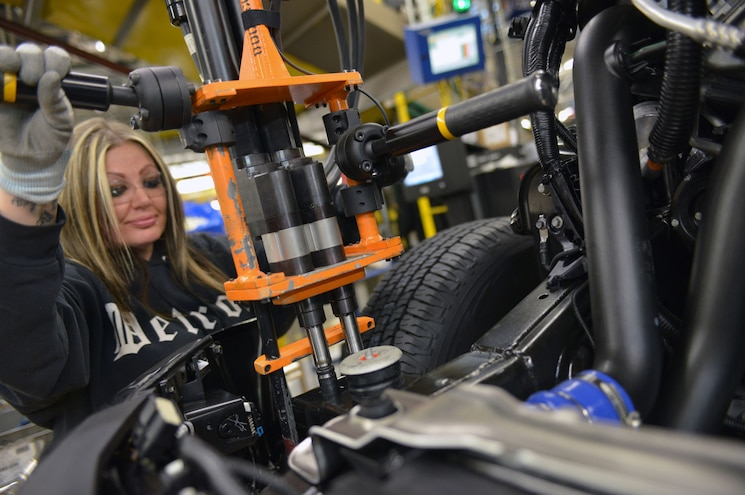2015 Ford F 150 Production At Dearborn Truck Plant