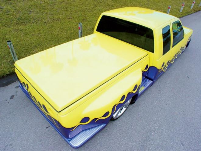 1995 Chevrolet Silverado top View