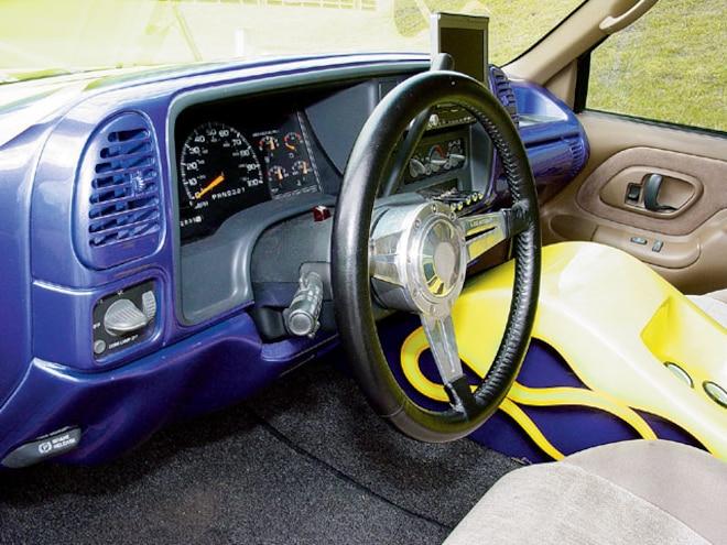 1995 Chevrolet Silverado custom Dashboard