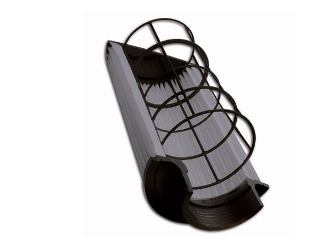 aem Dryflow Filter cross Section