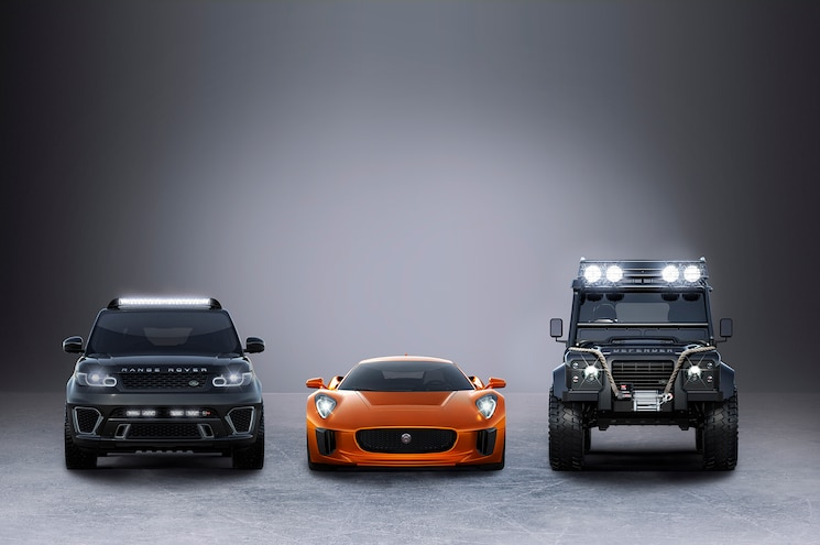"""Land Rover to Cast Wide Shadow Over """"SPECTRE"""""""