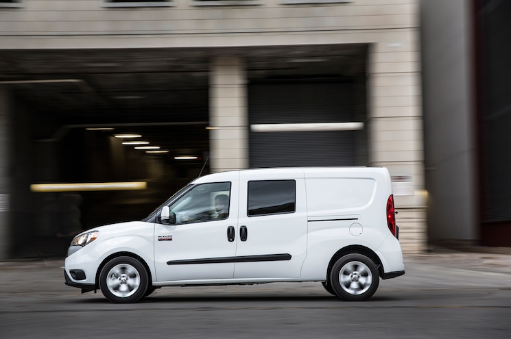 2016 Ram Promaster City Side In Motion