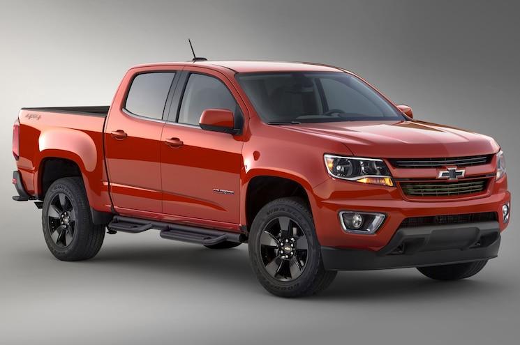 2015 Chevrolet Colorado Shows GearOn Cargo Management System
