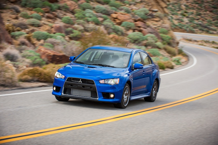 2015 Mitsubishi Lancer Evolution MR Front End In Motion