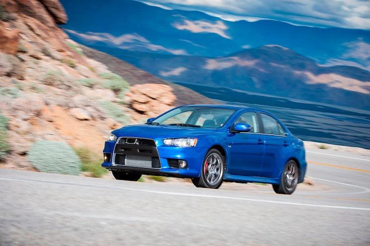 2015 Mitsubishi Lancer Evolution MR First Test